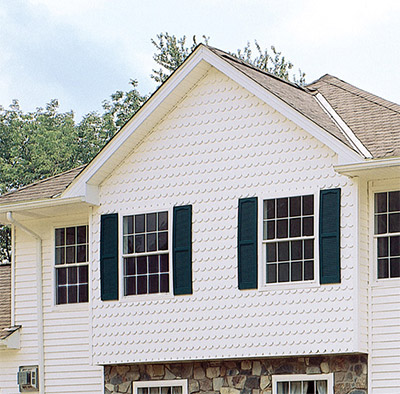 scalloped siding