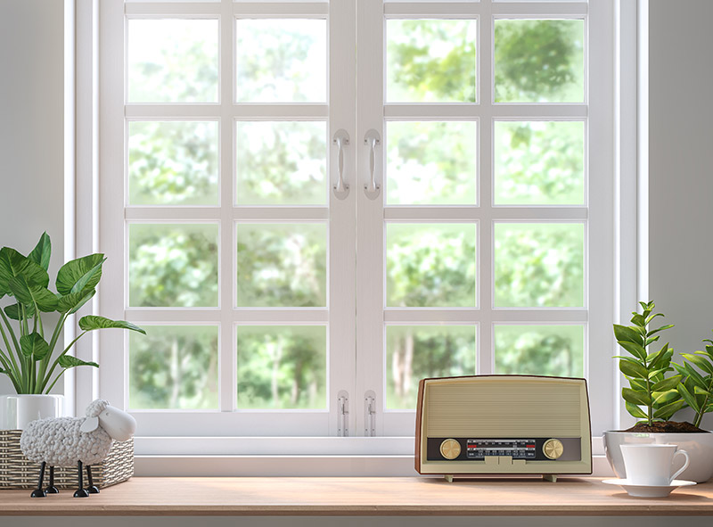 home argon gas windows that are clean